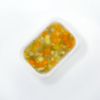 """LightBox"" vegetable soup"