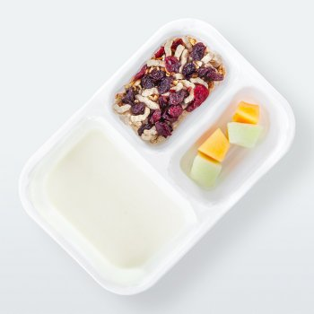 "Yogurt with ""Polish Fields"" muesli"