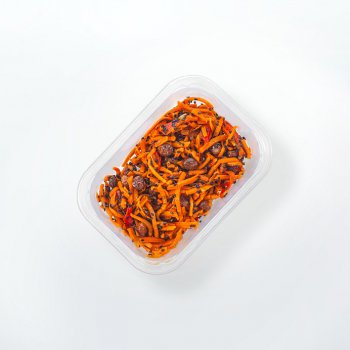 Carrot salad with black sesame